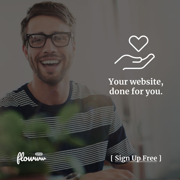 flowww sites Done for you. Sign Up free.